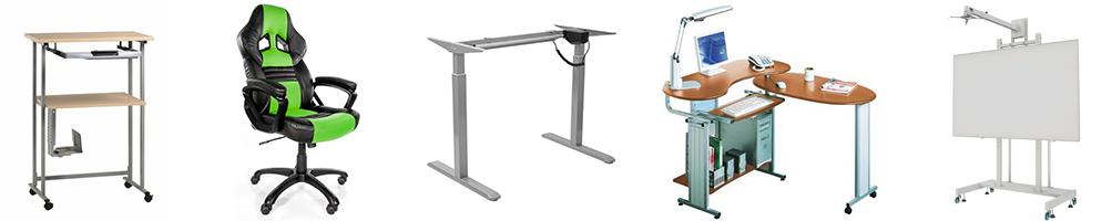 Sillas, mesas y otros muebles para tu rincón informático..