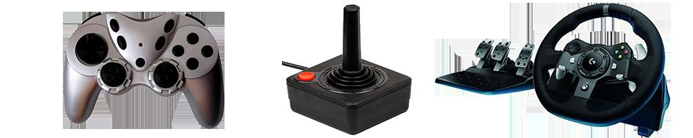Todo tipo de mandos para hacer tu experiencia gaming más real..
